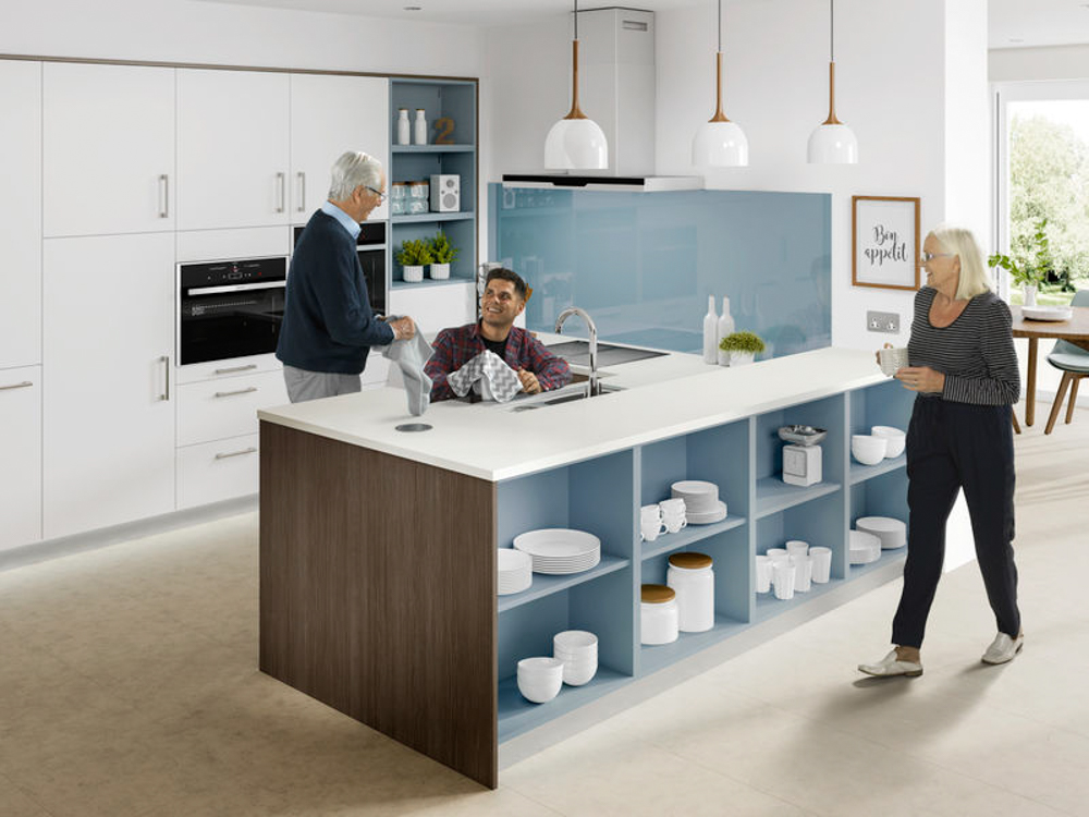 Bluewater Assisted Living Kitchen 1